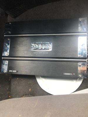 DHD car amplifier for Sale in Colton, CA