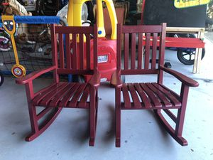 Two kid size rocking chair for Sale in San Mateo, CA
