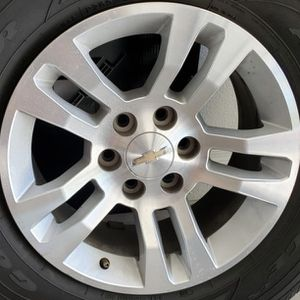 """Chevy Tahoe Rims Size 18"""" New For Sale for Sale in Chandler, AZ"""