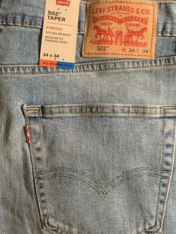 NWT Men's Levi's 502 Taper 34x34 Jeans for Sale in Chicago,  IL