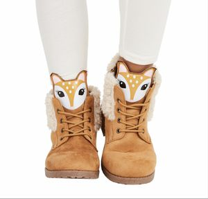 NIB-FABKIDS GIRLS FUR LINED DEER FACE BOOT for Sale in Kaysville, UT