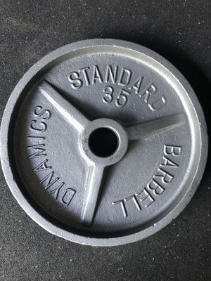 DYNAMICS 35lb Olympic Weight (Single) for Sale in Modesto, CA