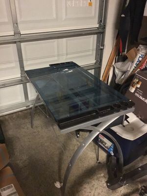Glass art drafting table for Sale in Palmetto, FL