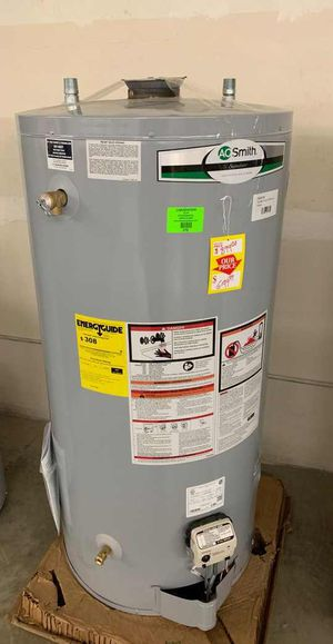NEW AO SMITH WATER HEATER WITH WARRANTY AML for Sale in Saginaw, TX
