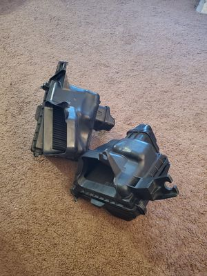 Infiniti Q50 Q60 VR30 stock airbox (pair) with K&N drop in filters for Sale in Artesia, CA