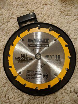 "DeWalt 6-1/2"" fast cut blade for Sale in Poway, CA"