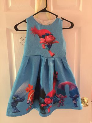 Size 7/8 Troll dress for Sale in Snohomish, WA