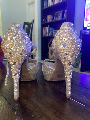 Gold Giani Bini Heels for Sale in Alexandria, VA