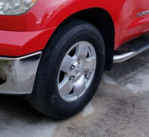 Rims & tires for tundra 2007_2015 for Sale in Palm Springs, FL