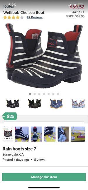 Rain boots for Sale in Sunnyvale, CA
