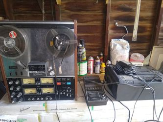 Vintage band equipment amplifier, recorders, equalizers, mixing console, ect for Sale in Cleveland,  OH