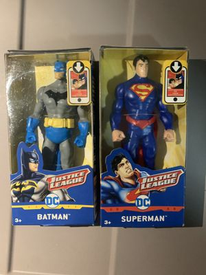 Batman & Superman small action figure set for Sale in Palm Beach Shores, FL
