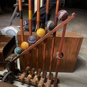 Croquet Game Set for Sale in San Jose, CA