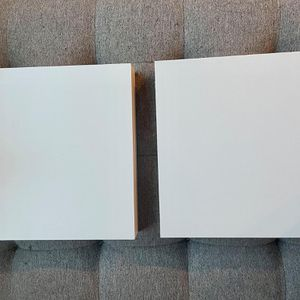 2 square floating ikea shelves (w/o hardware) for Sale in Seattle, WA