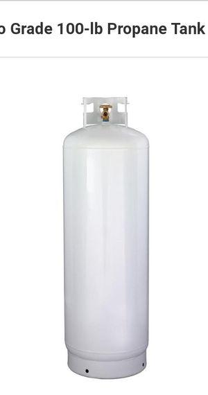 100 lbs propane tank for Sale in Pennsboro, WV