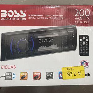 Bluetooth Boss Radio System for Sale in Visalia, CA
