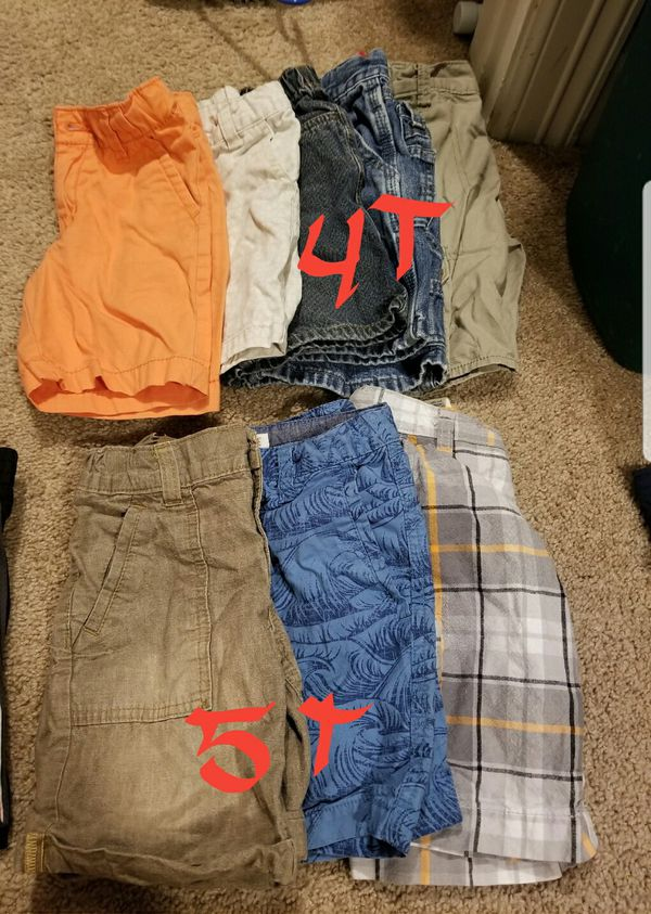 Boys pans and shorts
