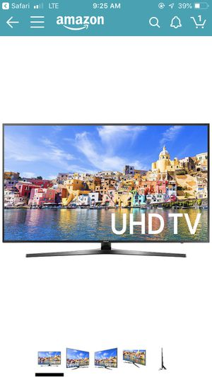 "Samsung 40"" 4KTV UN40KU7000 for Sale in Manassas, VA"