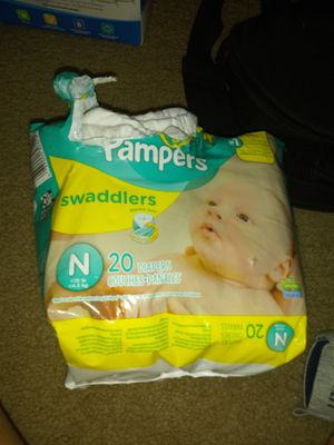 Pampers newborn for Sale in Aurora, CO