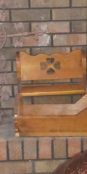 Antique baby Doll bench and cradle for Sale in Villa Rica, GA