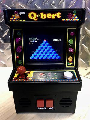 Q*Bert Mini Arcade Video Game for Sale in Kent, WA
