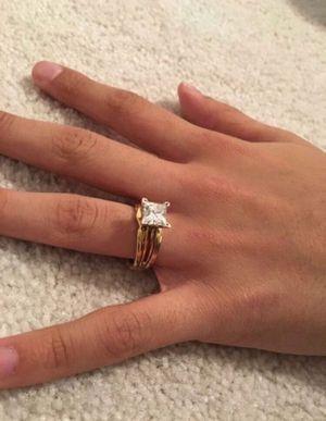 Helzberg 2 CT Diamond Princess Cut VVS2 Ring for Sale in Fairfax, VA