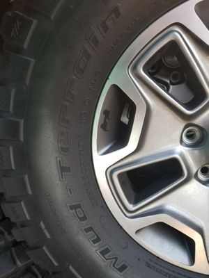 Jeep Wrangler wheels - Tires for Sale in Canoga Park, CA