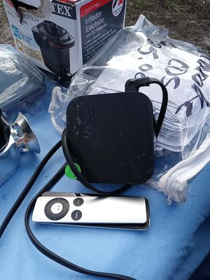 Apple tv box with remote for Sale in NEW PRT RCHY, FL