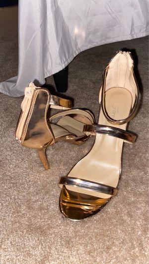 Size 9 Rose Gold Heels for Sale in Arlington, VA