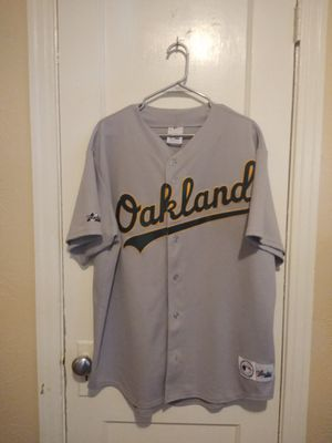 Oakland athletics magestic jersey sz XL for Sale for sale  Dallas, TX