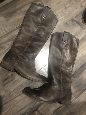 FRYE - Women's Tall Boots - Genuine Leather Size 6 for Sale in Port Orchard, WA