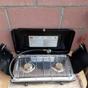 Century Double Stove (Outdoor)Like New for Sale in Garden Grove, CA