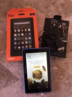 Amazon Kindle Fire Blue Tablet 8GB Like New for Sale in Phoenix, AZ