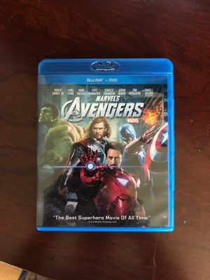 Avengers blu ray for Sale in Diamond Bar, CA