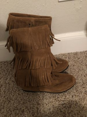 Fringe boots for Sale in Pasadena, TX
