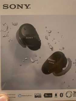 Sony Wf-sp800n Earbuds Truly Wireless for Sale in Yonkers,  NY