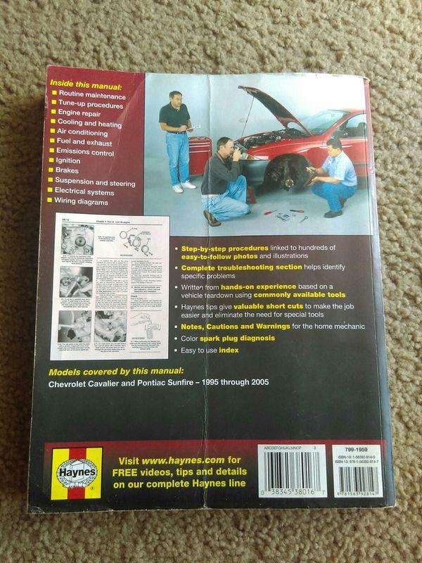 2005 pontiac sunfire repair manual free
