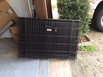 Kong large breed dual door dog crate for Sale in Leesburg,  FL