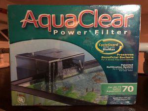 AquaClear power filter for 70 gallon Aquarium for Sale in San Diego, CA