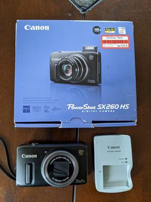 Canon PowerShot digital camera for Sale in Roseville, CA