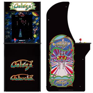 Galaga galaxian arcade machine arcade box video game console arcade cabinet two games for Sale in Los Angeles, CA