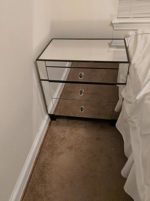 Mirrored Night Stands for Sale in Arlington, VA