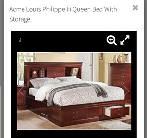 Queen Bed w Delivery for Sale in Fresno, CA