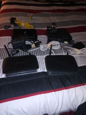I have 4 routers for Sale in Fort Myers, FL
