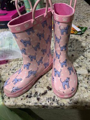 Little girls rain boots for Sale in San Antonio, TX