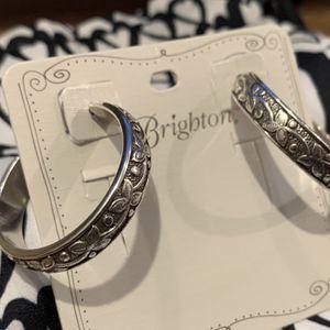 Brighton Sterling Silver Hoops for Sale in Dallas, TX