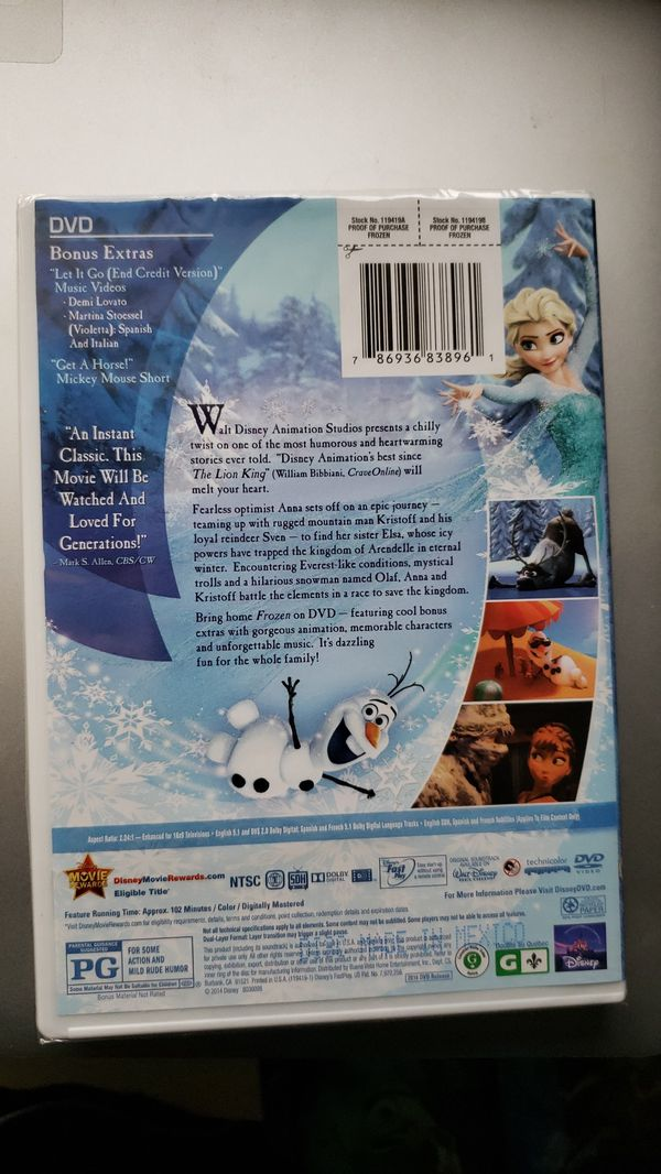 Frozen movie not opened new