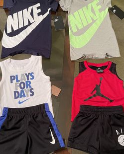 Brand New Nike Jordan Outfits, Size 6/9, 9,12 months for Sale in Stone Mountain,  GA