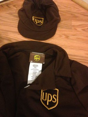 Unisex ups drive halloween costume for Sale in ISAFA, NV
