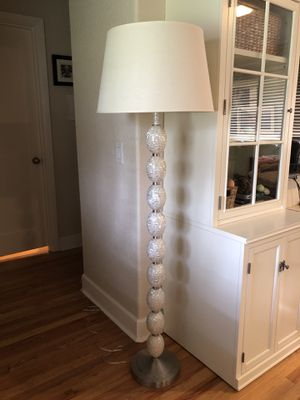 Pottery Barn Floor Lamp & Shade for Sale in Portland, OR